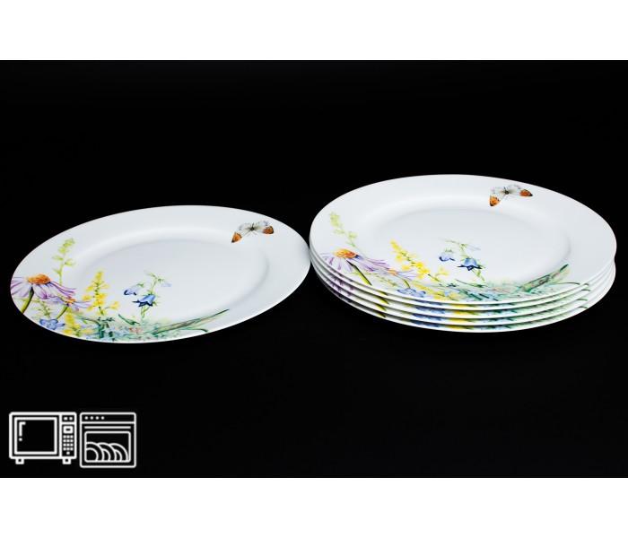 Набор тарелок 6 шт. 20 см Дейзи Бабочки, Rulanda