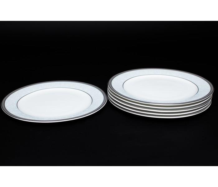 Набор тарелок 6 шт. 20 см Узор, Rulanda