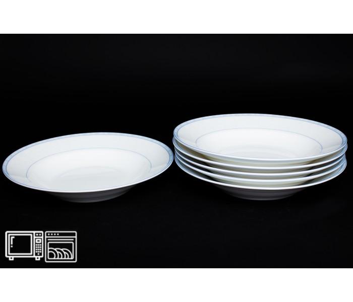 Набор тарелок 6 шт. 23см (суп) Утренний, Rulanda