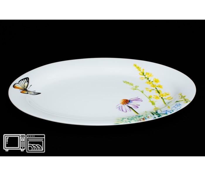 Овальное блюдо 30 см Дейзи Бабочки, Rulanda