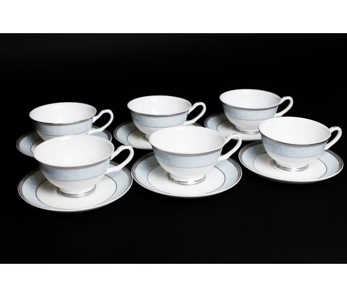 Набор чайных пар 6 шт. 200мл Узор, Rulanda